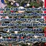 """Spectacol de Crăciun susținut de elevii Liceului Teoretic """"Ioan Buteanu"""" Șomcuta Mare 19.12.2013"""