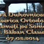 Seară Duhovnicească Biserica Ortodoxă Remeți pe Someș – Maramureș 07.02.2014