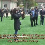 Inaugurarea Bazei Sportive din Buciumi – Maramureș