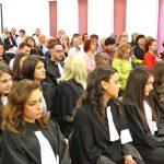 Ceremonia de depunere a jurământului de intrare în profesia de avocat